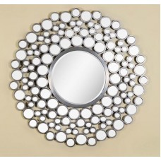 AD20-ROUND MIRROR MADE WITH SMALL CIRCLES