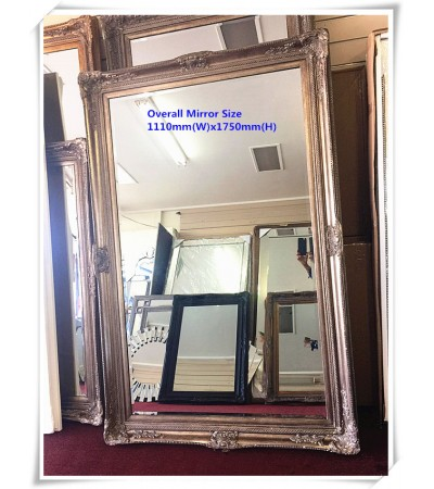 AD27-ANTIQUE FRANCE STYLE MIRROR