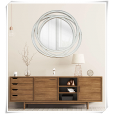 AD44-CLAIRE ROUND WALL MIRROR