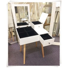 AD21-DRESSING TABLE MIRROR JEWELER CABINET MAKEUP STORAGE