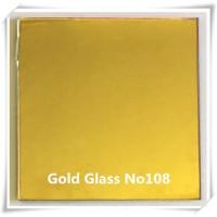 G108- GOLD COLOR NO108 GLASS MIRROR