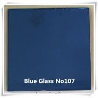 G107- BLUE COLOR NO107 GLASS MIRROR